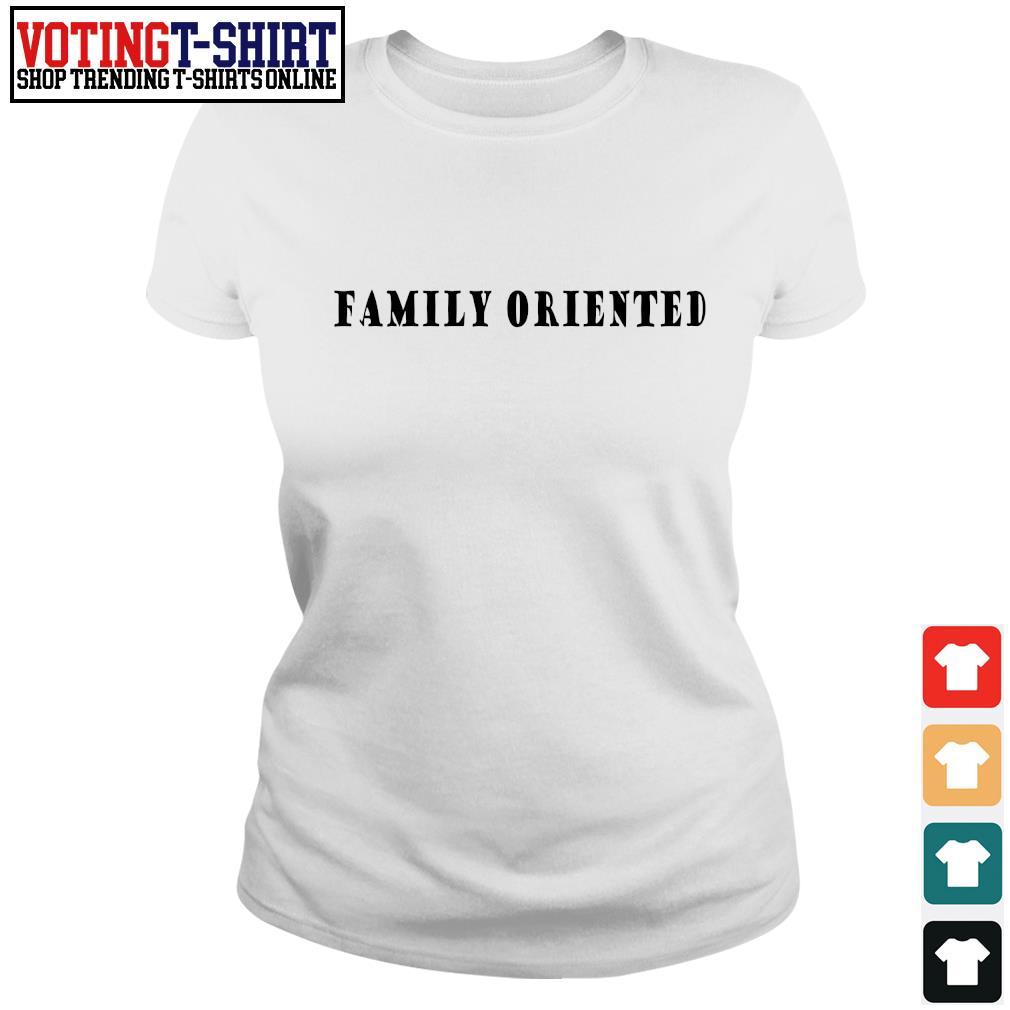 Family oriented s Ladies-tee