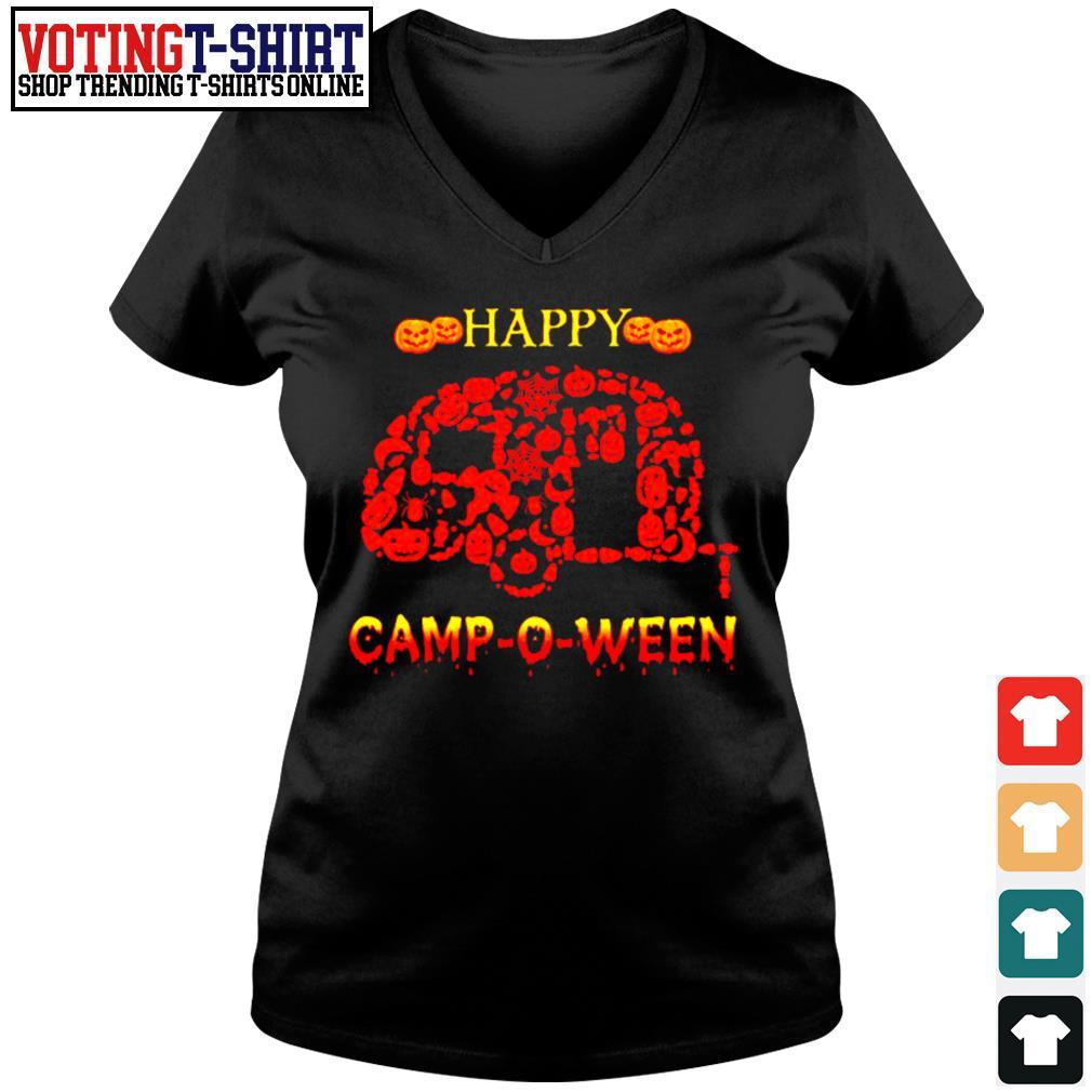 Happy Camp O Ween s V-neck t-shirt