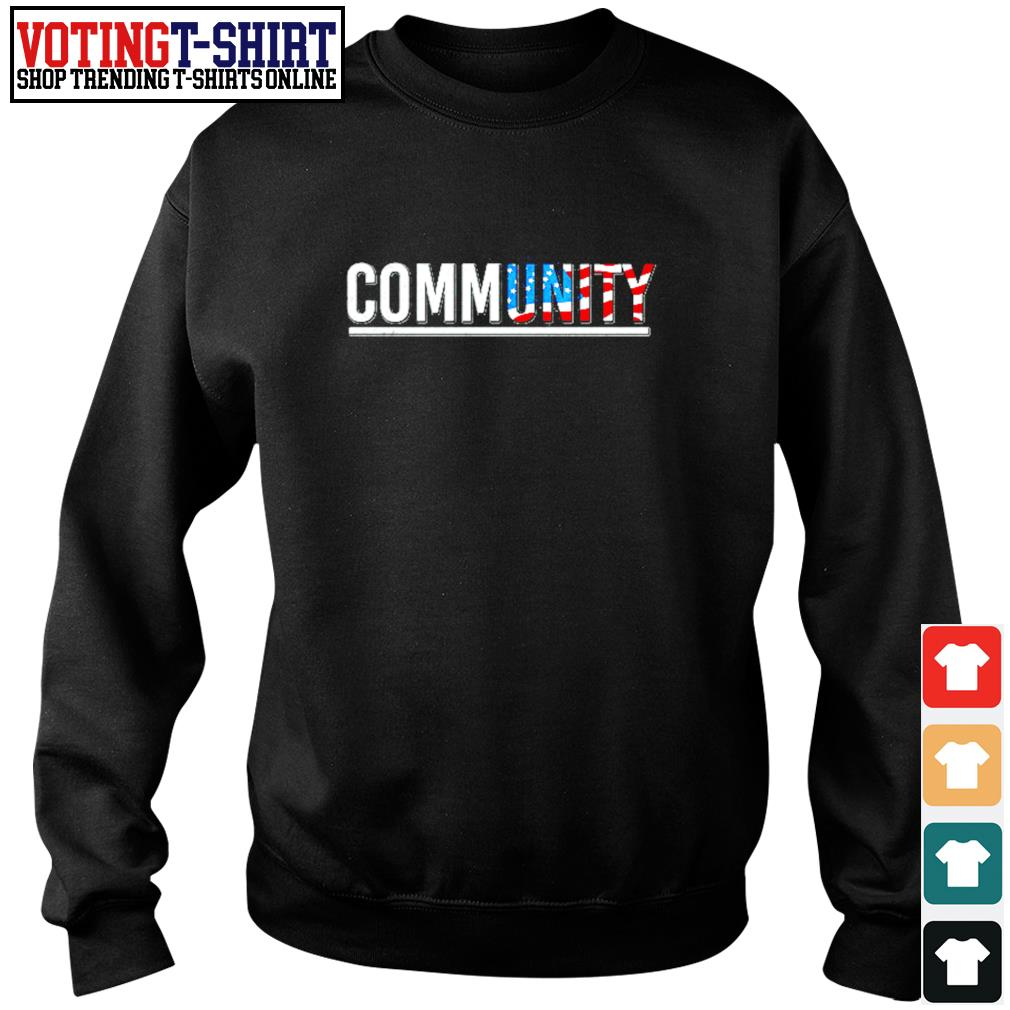 Community American flag s Sweater