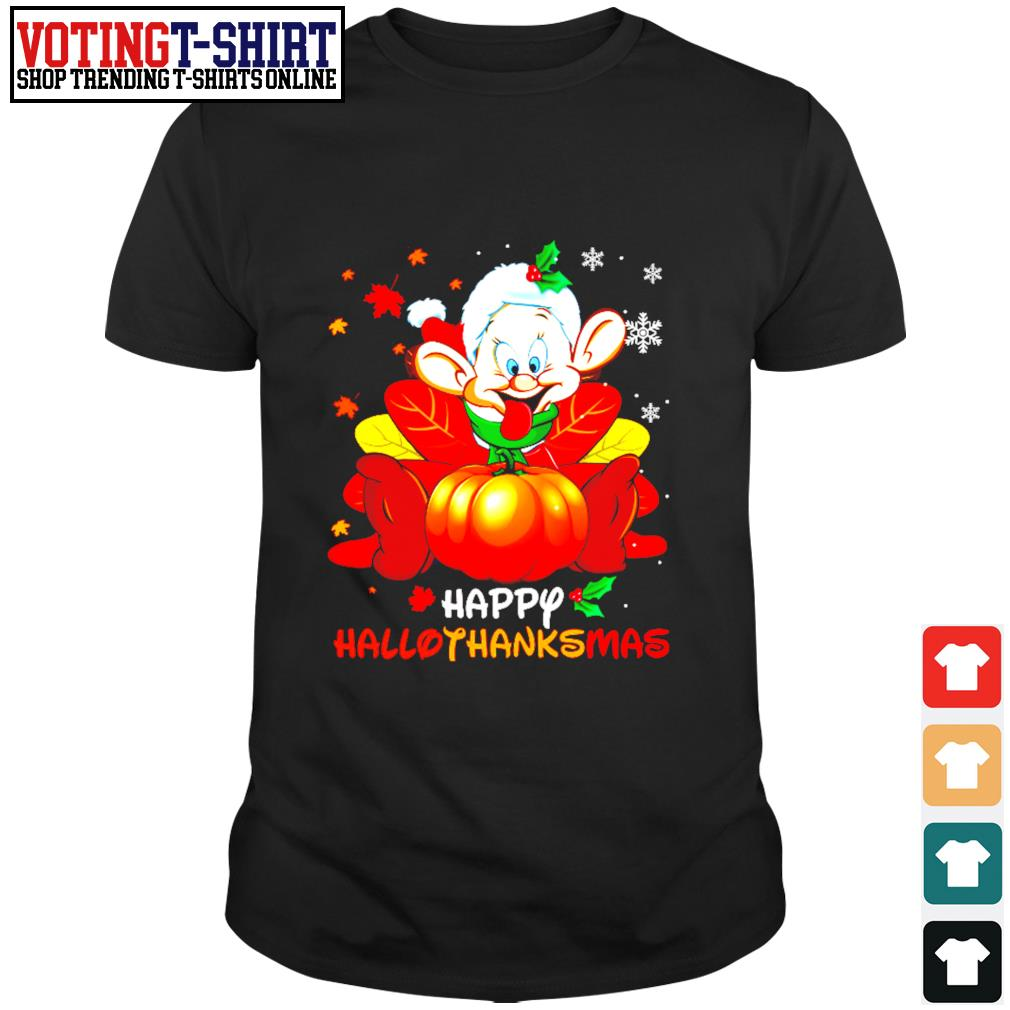 Dopey Happy Hallothanksmas shirt