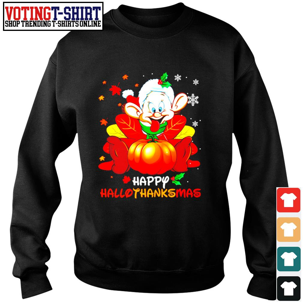 Dopey Happy Hallothanksmas s Sweater