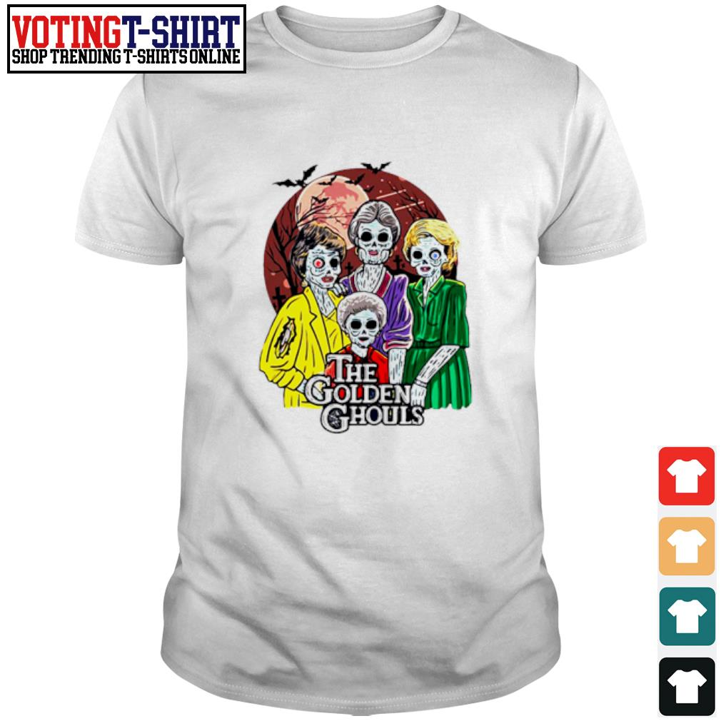 Happy Halloween The Golden Ghouls shirt