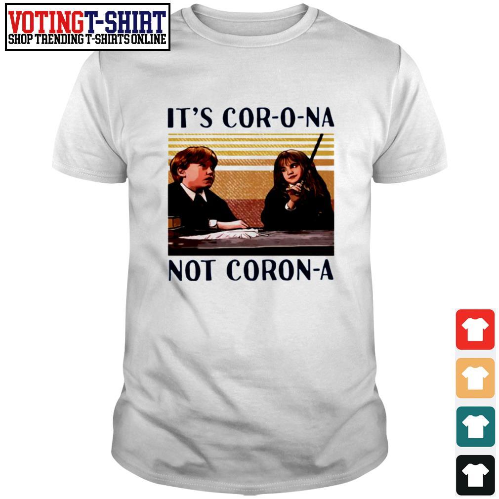 Hermione It's Corona not Corona vintage shirt