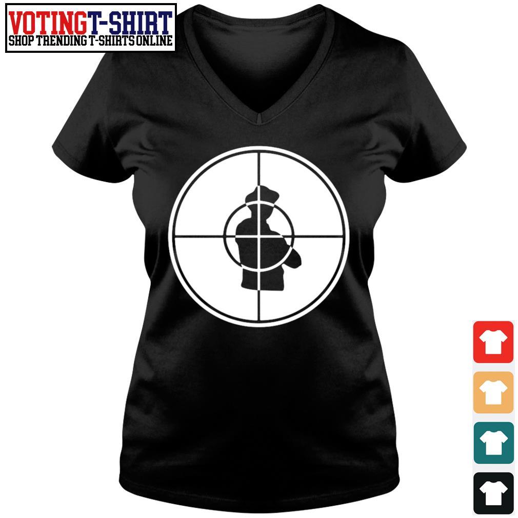 Public Enemy s V-neck t-shirt
