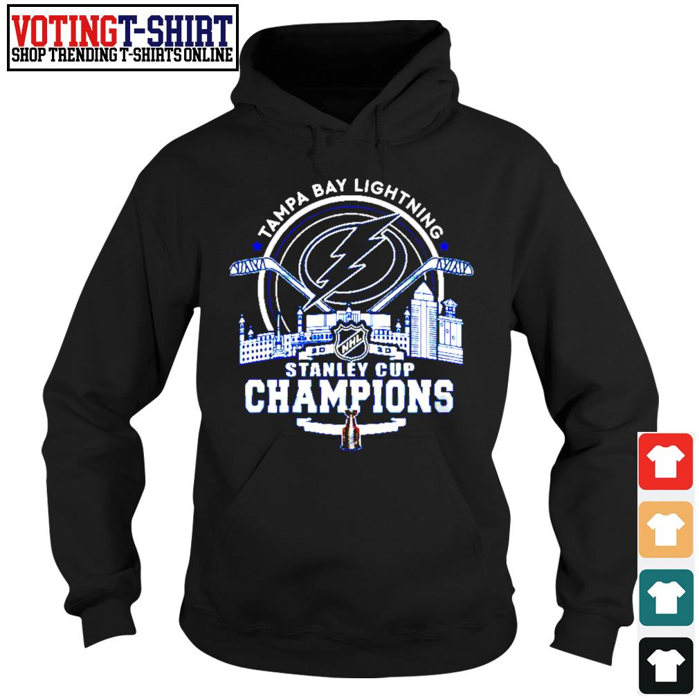 Tampa Bay Lightning 2002 NHL stanley cup champions s Hoodie
