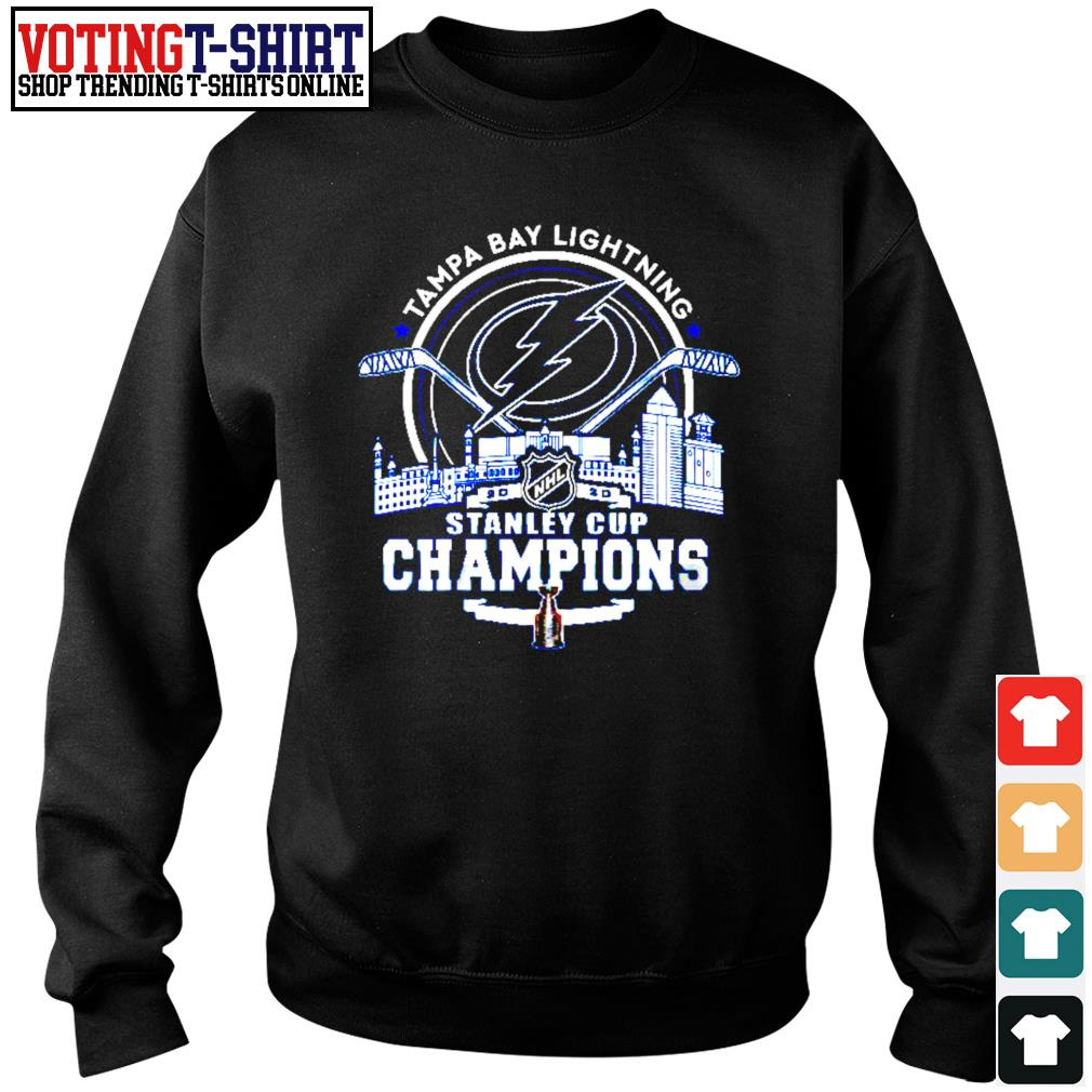 Tampa Bay Lightning 2002 NHL stanley cup champions s Sweater