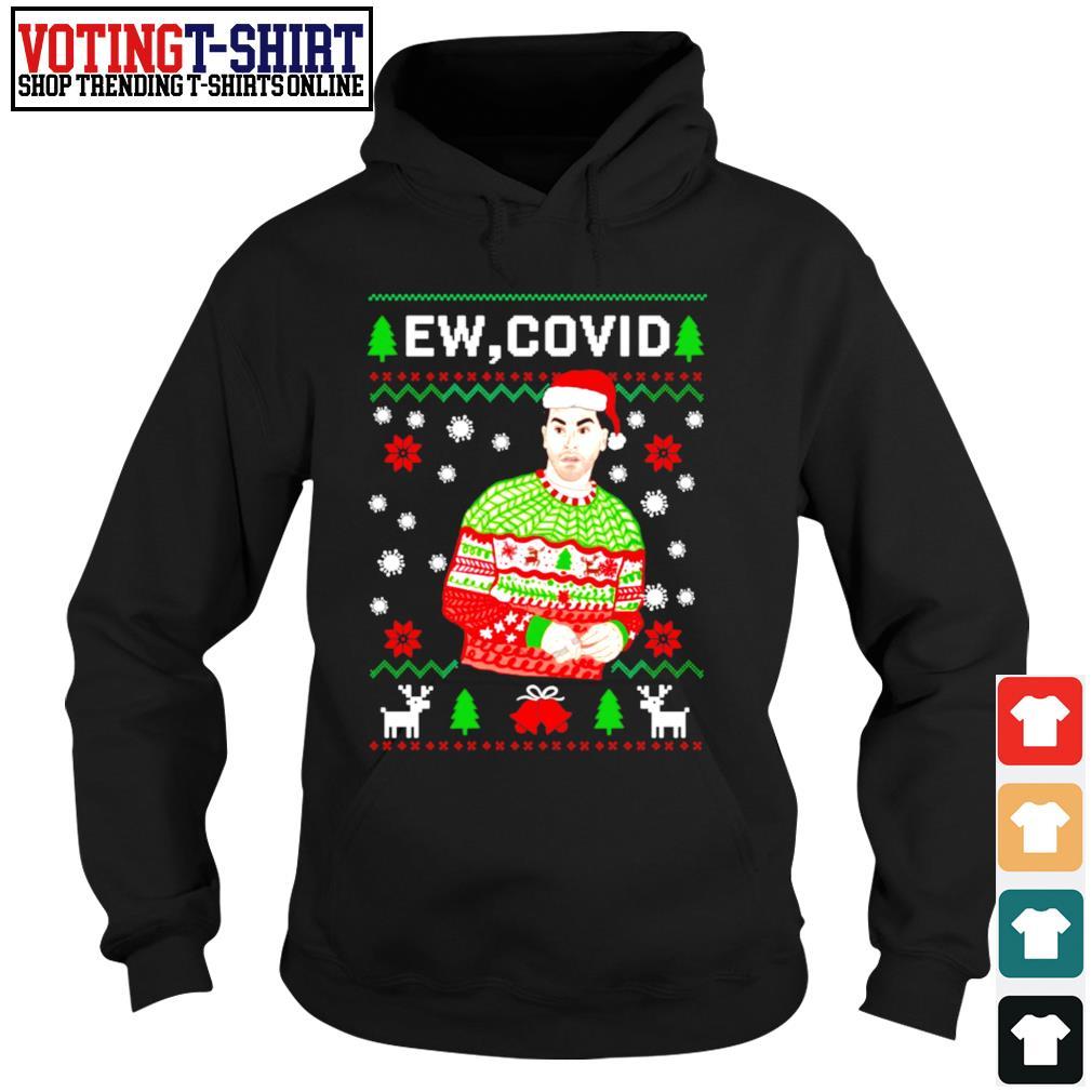 David Rose ew Covid Christmas ugly s Hoodie