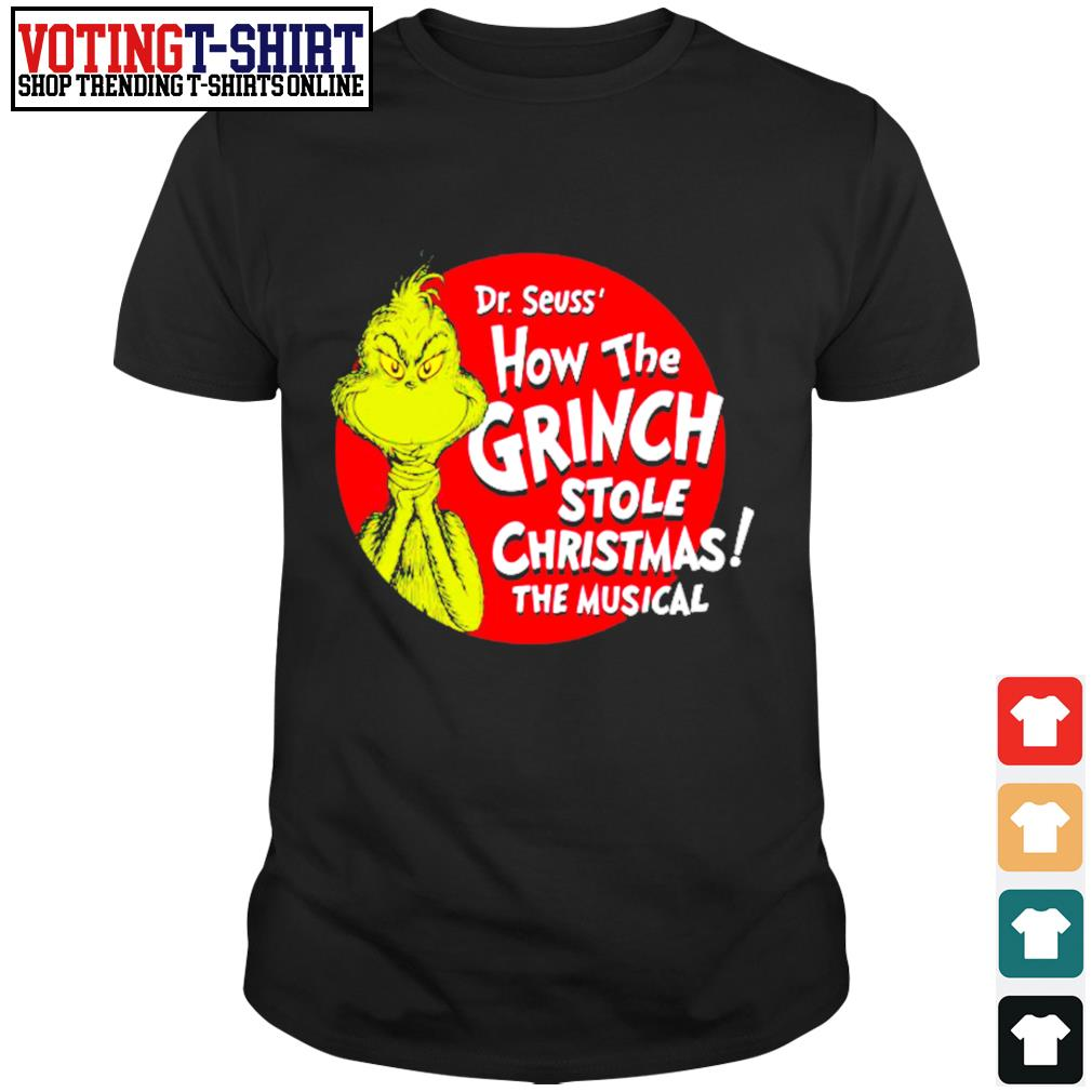 Grinch 2020 how the Covid stole Christmas shirt